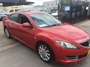 2008 Mazda 6 GH Limited Red 6 Speed Manual Sedan Lidcombe Auburn Area Preview