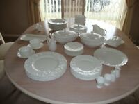 LARGE AMOUNT COALPORT COUNTRYWARE DUT TO DOWSIZING AND SPACE NEEDED