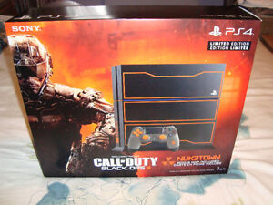 PS4 CALL OF DUTY BLACK OPS 3 LIMITED EDITION + GUIDE BRAND NEW London Ontario image 1