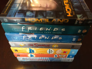 TELEVISION SHOWS (DEXTER, HOUSE, FRIENDS) 60+ DVD, BLU RAY FILMS