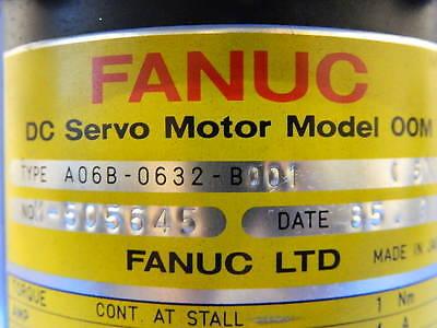 Fanuc Elox A06b-0632-b001 Dc Servo Motor Model 00m