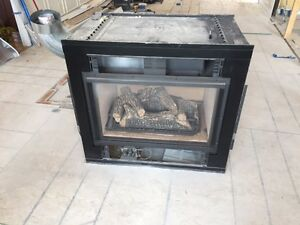 Renovation Sale - two sided gas fireplace