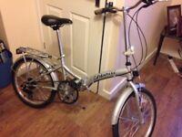 viking city foldable bike