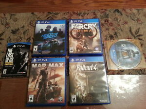 (VERY MINT!) PLAYSTATION PS4 SOME GREAT GAMES