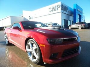 2015 Chevrolet Camaro 2SS convertible, PST paid, Nav, leather, r