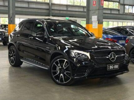 2017 Mercedes-Benz GLC43 X253 AMG Wagon 5dr 9G-TRONIC 9sp 4MATIC 3.0TT Black Sports Automatic Wagon
