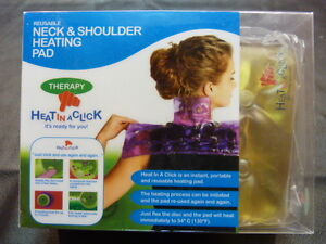 HEAT IN A CLICK - REUSEABLE Neck and Shoulder Heating Pad Prince George British Columbia image 2