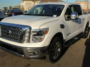 2017 Nissan Titan SL: CREW CAB, LEATHER, NAVIGATION, HEATED SEAT