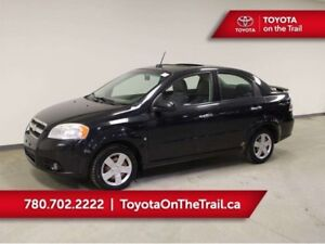 2010 Chevrolet Aveo LT; WINTER TIRES, SUNROOF, AUTOMATIC, A/C, G