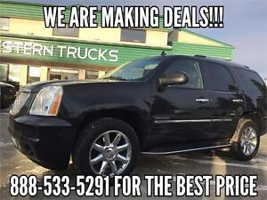2011 GMC Yukon Denali AWD 6.2L V8 Loaded ~ DVD ~ $290 B/W