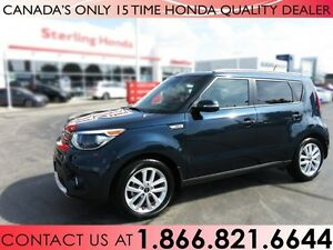 2017 Kia Soul EX+ | NO ACCIDENTS | 1 OWNER | LOW KM'S