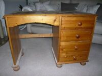 Pine Desk and Chest for Sale - Ideal Shabby Chic Project