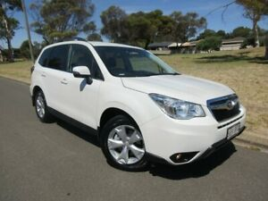2015 Subaru Forester S4 MY15 2.0D-L CVT AWD White 7 Speed Constant Variable Wagon Old Reynella Morphett Vale Area Preview