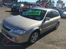 1998 Mazda 323 Astina Shades Silver 4 Speed Automatic Hatchback Lansvale Liverpool Area Preview