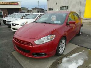 2013 DODGE DART SXT TURBO 72000KM, AIR, GR.ELECT $5995