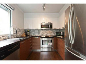 North Vancouver. A stunning 2 bedroom/2 bathroom apartment