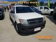2005 Toyota Hilux GGN15R SR Utility Dual Cab 4dr Man 5sp 4.0i White Manual Utility Springwood Logan Area Preview