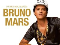 Next to the Stage Bruno Mars