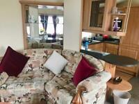 Beautiful Static Caravan Holiday Home For Sale by the Beach in North Wales