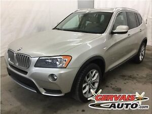 BMW X3 xDrive28i AWD Cuir Toit Panoramique MAGS 2014