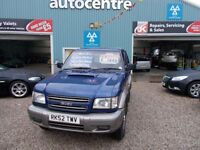 ISUZU TROOPER 3.0 SWB DT 1d 157 BHP 4x4 commercial (blue) 2002