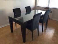 Wood table w/ chairs