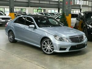 2012 Mercedes-Benz E63 W212 AMG Sedan 4dr SPEEDSHIFT MCT 7sp 5.5TT [MY12] Silver Sports Automatic Port Melbourne Port Phillip Preview