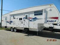 DOUBLE OVER DOUBLE BUNKS!  2006 EAGLE 325 BHS FW