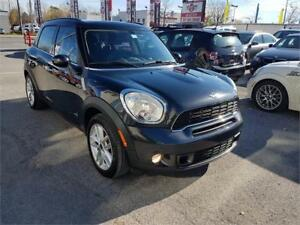 2013 MINI Cooper Countryman S ALL4,CUIR, TOIT *1 AN DE GARANTIE*