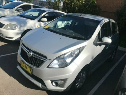 2015 Holden Spark MP MY16 LS Silver 1 Speed Constant Variable Hatchback Seven Hills Blacktown Area Preview