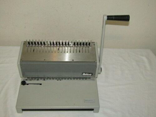 Ibico Ibimatic Heavy Duty Metal Manual Comb Binding Punch Machine