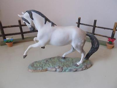 "FRANKLIN MINT* GREAT HORSES OF THE WORLD ""ANDALUSIAN"" 1989 *MINT*"