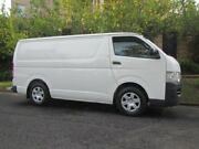 2010 Toyota Hiace TRH201R MY07 Upgrade LWB White 5 Speed Manual Van Mount Lawley Stirling Area Preview