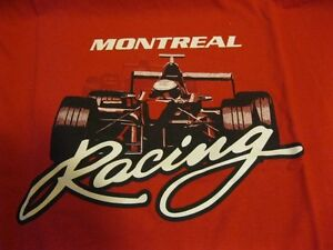 Montreal Racing T-Shirt from 1st Canadian Nascar Race