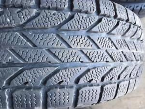 4 - BF Goodrich Winterforce Snow Tires with Good Tread - 195/65 R15