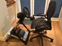 Logitech G27 steering wheel, pedal's, gear shifter and folding stand PLAYSTATION, XBOX, PC