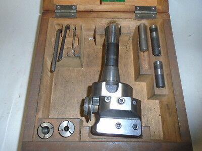 Machinist Tools Lathe Mill Bakuer Italy Adjustable Boring Head R8 For Bridgeport