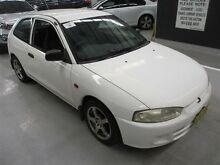 2000 Mitsubishi Mirage CE CE White 4 Speed Automatic Hatchback Maryville Newcastle Area Preview