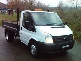 Ford Transit 350 RWD 2.2 TDCI 100 MWB 1 Way Tipper
