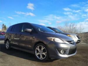 DEAL! $119 BI WKLY OAC! 2009 Mazda Mazda5 GT LEATHER SUNROOF