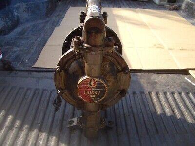 Graco Husky 1040 Stainless Diaphragm Pneumatic Pump W Ground Wire