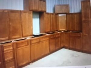BRAND NEW ALL WOOD CUPBOARD SETS ! SAVE WELL OVER $11,000.00