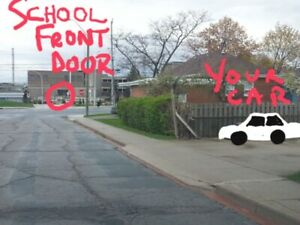 Parking spot available across the street from MOHAWK COLLEGE!!