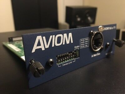 Used, Aviom 16/o-Y1 Yamaha Output Card : 16/0 Y1 NICE! AW4416 DM2000 01V96 02R96 DME32 for sale  Round Rock