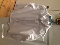 Petit Bateau Boys White Shirt - 108cm (Age 3 - 4)