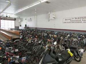 Bicycle Auction Monday October 3 @ 5 pm