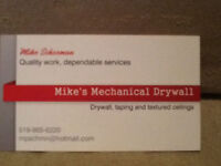 Taping Drywall and Textured Ceilings