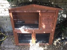 Two Tier Large Rabbit/Guinea Pig Hutch