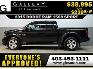 2015 DODGE RAM SPORT CREW *EVERYONE APPROVED* $0 DOWN $239/BW!