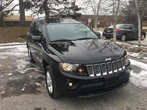 2014 Jeep Compass North, LEATHER, ROOF, 4X4